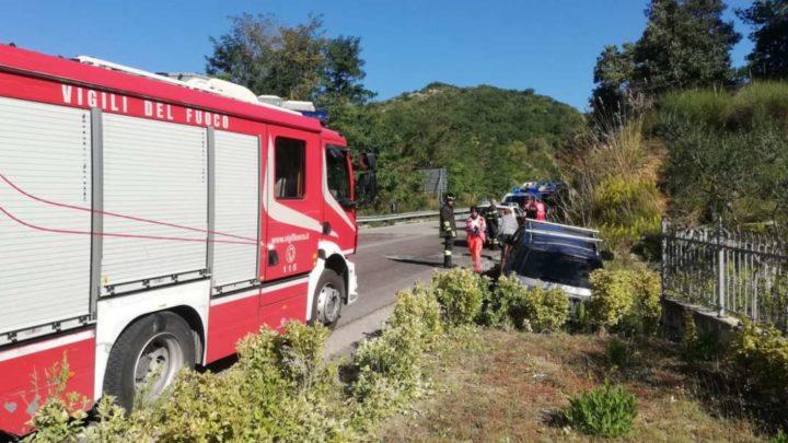 Incidente stradale sulla Cassino Formia, un ferito