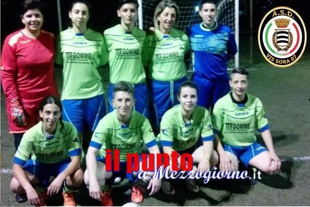 Calcio femminile: Per le bianconere di Sora, buona la prima, anche se con un pareggio contro Littoriana Futsal