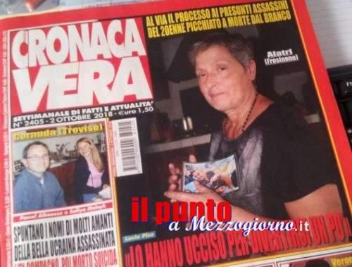 Quarantanove anni di Cronaca Vera, lo storico settimanale dedica la copertina alla mamma di Emanuele Morganti