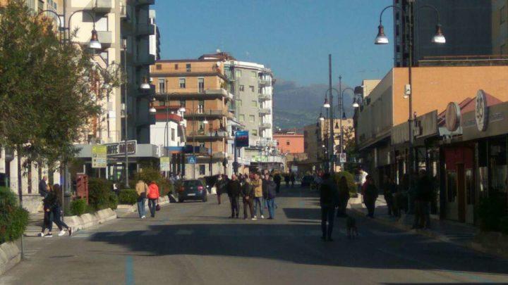 Frosinone, domenica ecologica: cittadini a passeggio e poche multe