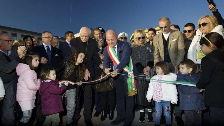 Frosinone, inaugurato il Parco del Matusa, due giorni di festa per la città
