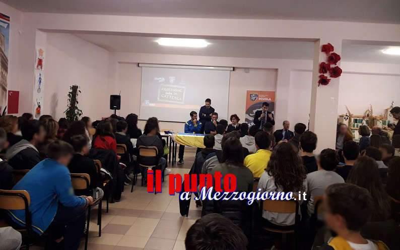 """II Edizione di """"Frosinone sale in cattedra"""": la polizia di stato schiera la """"squadra della legalità"""""""