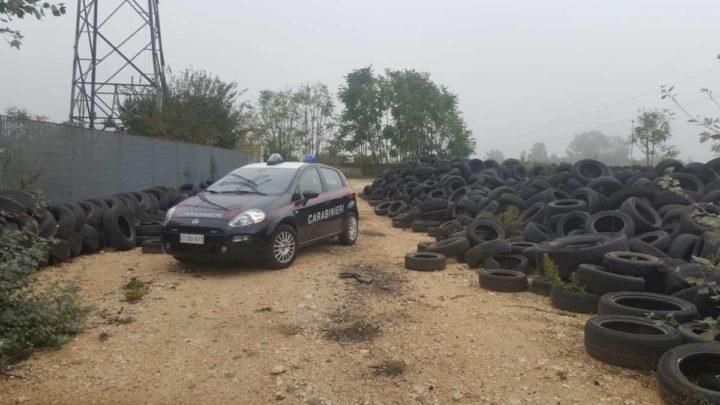 Azienda di trattamento rifiuti speciali sequestrata a Piedimonte