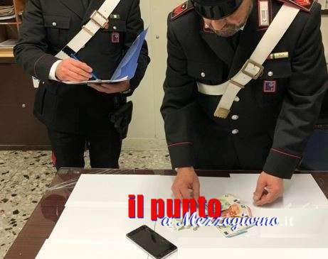 Pusher in albergo a Ceprano, sopreso in camera con cocaina e soldi