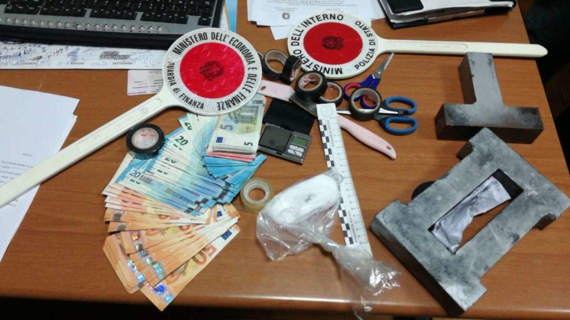 Spacciatore di cociana arrestato a Sora, aveva 60 grammi di droga