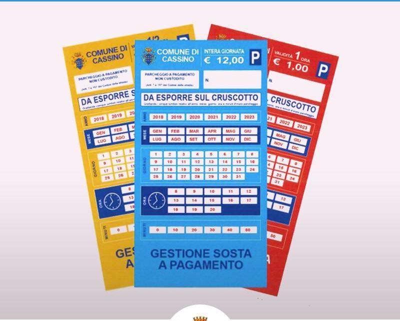 Cassino, parcheggi a pagamento si riparte lunedì (forse!)
