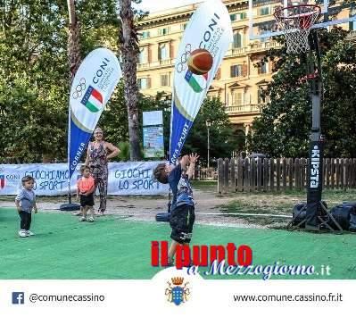 """Domenica 25 novembre, Cassino apre strade e piazze a """"Sport in Piazza"""""""
