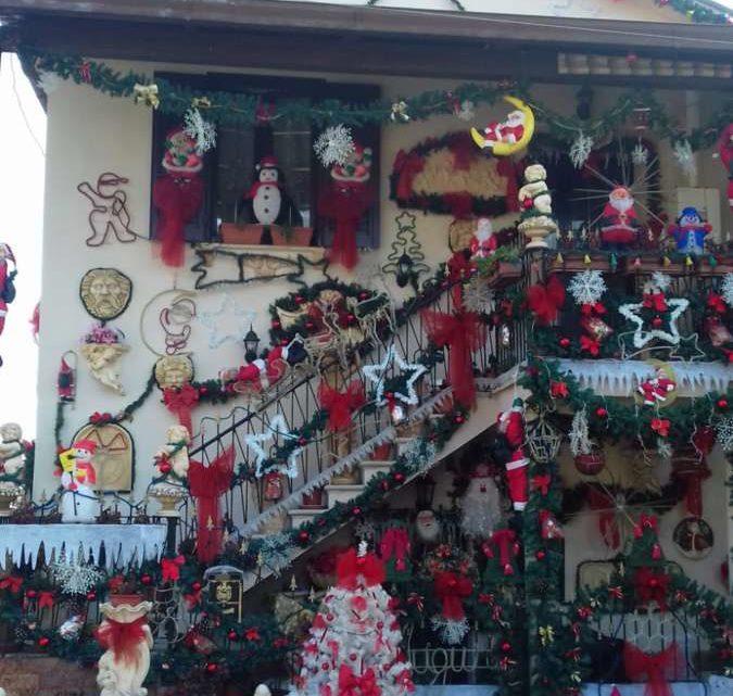 """La casa del Natale a Cassino """"riscalda"""" i cuori anche a temperature glaciali"""