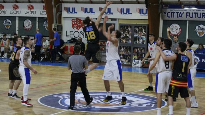 Basket Serie C SILVER : Veroli supera Pallacanestro Lazio, 82-68