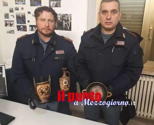 Gaeta, polizia in cerca di droga trova reperti archeologici risalenti al 500 a.C.