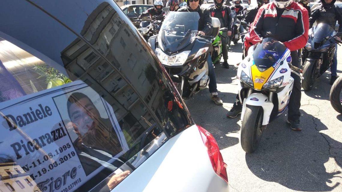 Centauro morto a Velletri, Ieri l'ultimo saluto a Daniele (Foto e Video)
