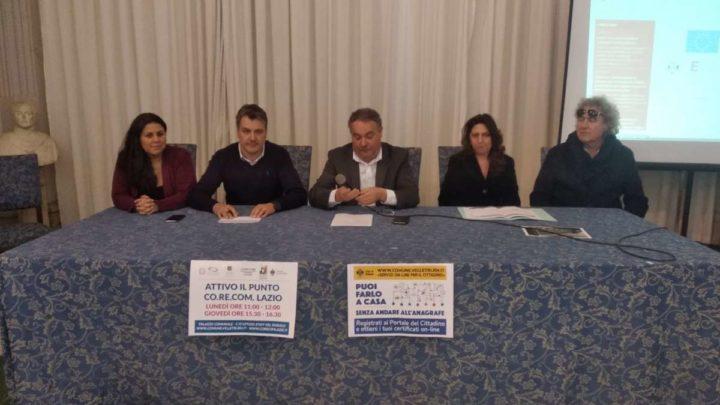 File anagrafe di Velletri, Amministrazione: Grazie al sito internet comunale si stampano certificati da casa
