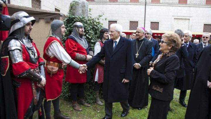 """Mattarella a Cassino, il Presidente visita la """"Fiera del Santo Patrono"""""""