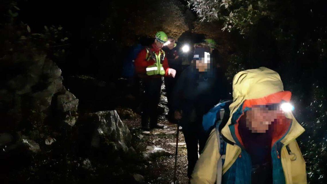 Tre donne si perdono sui monti di Patrica, escursioniste soccorse dal Soccorso Alpino