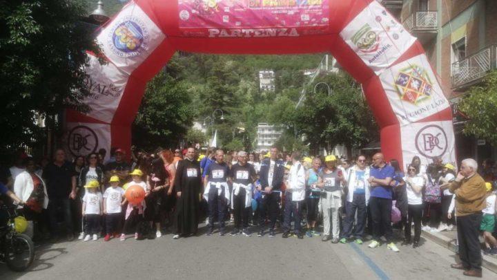 """29esima """"Maratona di Primavera"""", 5mila persone, centinaia di famiglie, una festa di sport e di pace"""