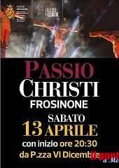 Frosinone, navette e ascensore per la Passio Christi in programma oggi
