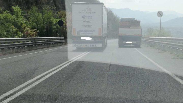 Incidenti sulla Sora-Cassino frutto della indisciplina degli automobilisti
