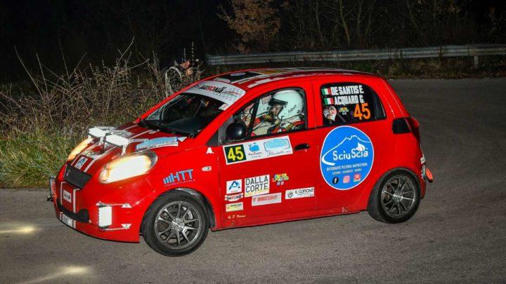 """Via al """"7° Rally Terra di Argil"""" secondo impegno stagionale per i cassinati De Santis e Acquaro su DR1"""