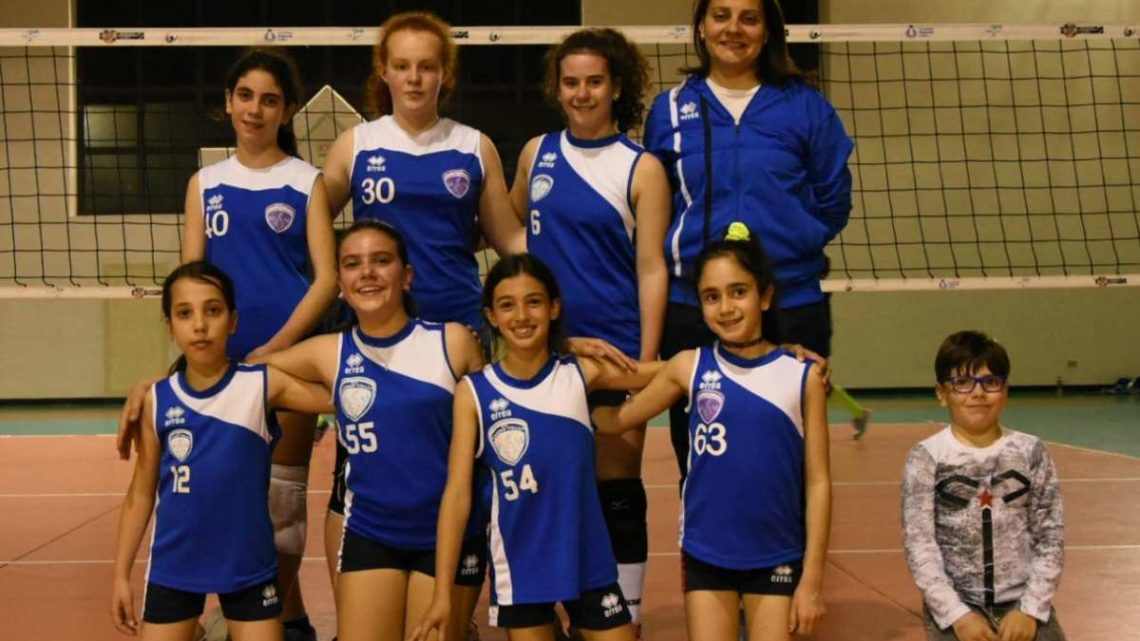 Volley Under 12 Femminile: Cassinovolley tripletta di successi per le ragazze