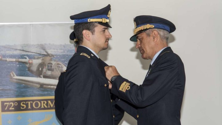 """Frosinone, consegnate le """"Aquile"""" ai neo piloti militarI del 72° Stormo"""