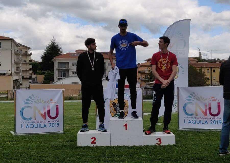 Ottimi risultati degli atleti del Cus-Cassino ai C.N.U. a L'Aquila