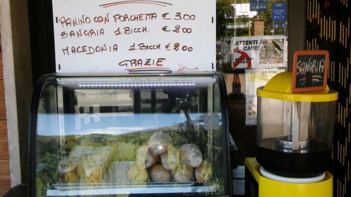 Panini all'Inglese a Cassino, prova fiducia a La Brunella: prendi e paga senza controllo