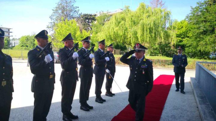 Il Generale Michele Carbone in visita al Gruppo Guardia di Finanza di Cassino