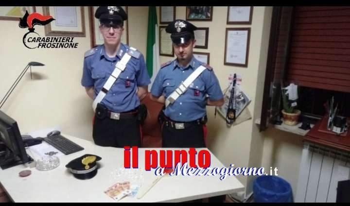 Con 43 dosi di cocaina negli slip, arrestato un 25enne a Paliano
