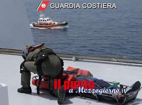 Gaeta, esercitazione di soccorso in mare della Guardia Costiera