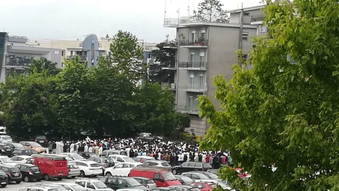 Cassino, in campo Miranda la 'Festa di fine Ramadan', momento di preghiera e pace per la comunità islamica