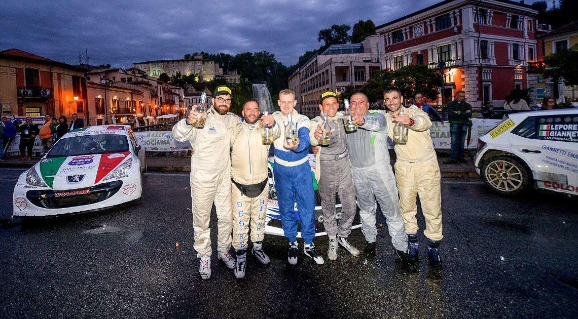 Rally della Ciociaria 2019: Giannetti e Lepore fanno tris con la Skoda Fabia R5