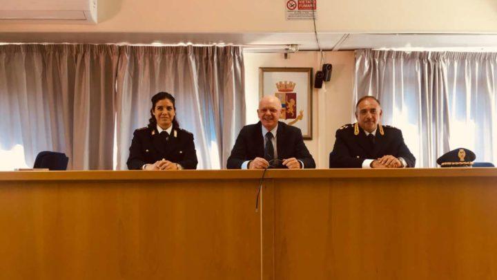 Frosinone, presentato lo staff dell'Ufficio Stampa della Questura