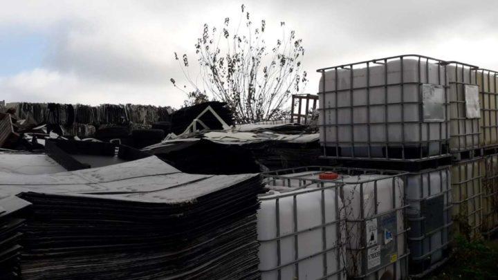 Gestione illecita di rifiuti a Cassino, sequestrata area di 1000 metri quadrati