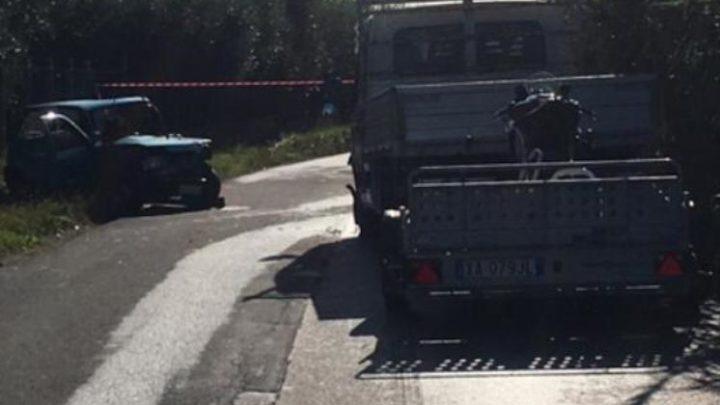 Incidente stradale a Velletri, 22enne gravemente feriti nello scontro frontale tra una 500 e un autocarro