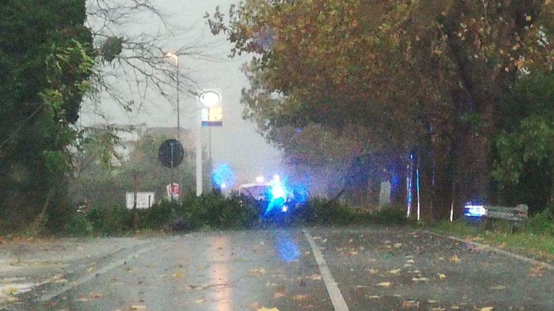 Maltempo: disagi a Cassino, bloccata via Casilina sud