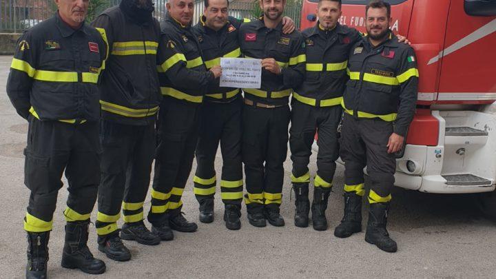 Sciopero e soccorro, i vigili del fuoco di Frosinone manifestano per diritti non rivonosciuti