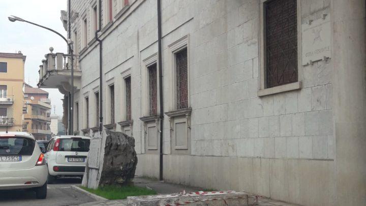 Le feste natalizie portano male ai monumenti di Cassino
