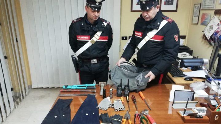 Razziatori di Capodanno nella rete dei Carabinieri, tre arresti a Sant'Elia