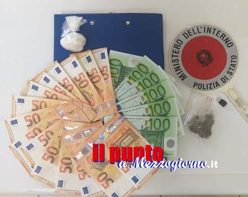 Cocaina in casa a Cassino, arrestato 65enne