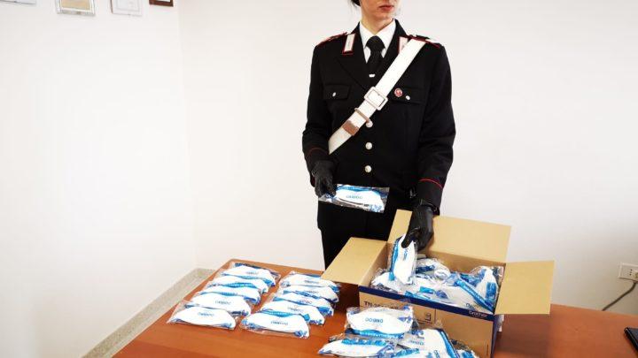 Coronavirus – Vendevano mascherine a prezzo maggiorato, 3 persone denunciate dai carabinieri