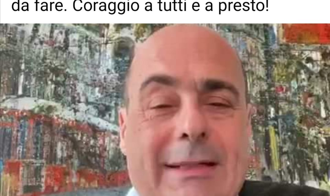 Nicola Zingaretti positivo al coronavirus