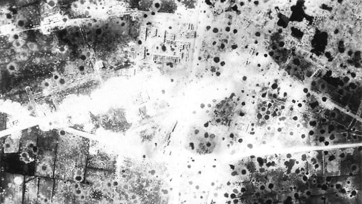 CASSINO 15 MARZO 1944. Quella gigantesca cicatrice bianca che risplendeva selvaggiamente al sole