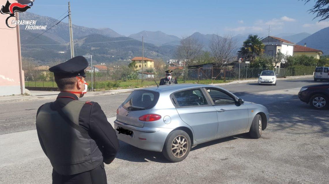 Coronavirus – In provincia di Frosinone 44 persone denunciate