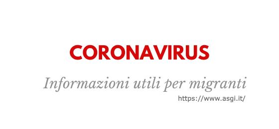 LECCE. Prevenzione Covid-19, video informativi e servizio telefonico in sei lingue