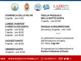 Gaeta – Le celebrazioni della Settimana Santa in diretta sui media diocesani