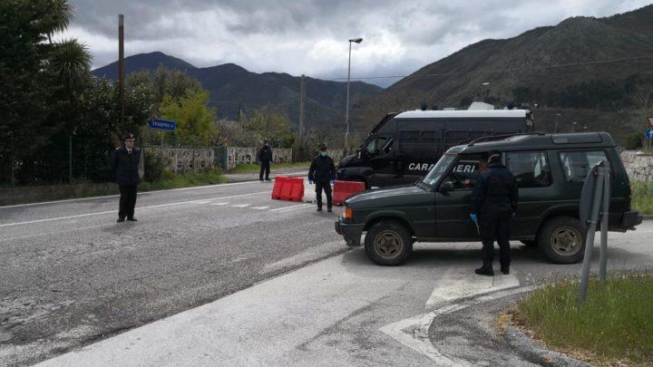 Venafro – Covid-19, sforzo notevole dei carabinieri per assicurare servizi di vigilanza