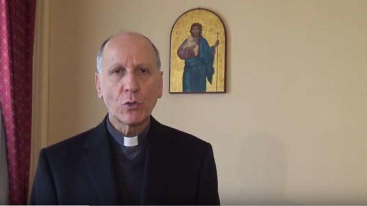 Il saluto del vescovo Antonazzo alla città di Cassino