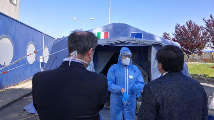 Coronavirus, al Covid hospital di tor vergata muore poliziotto di 59anni. la situazione nelle Asl