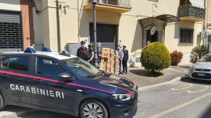 COVID-19. Ceprano. Carabinieri e solidarietà. Donati 300 pacchi di pasta