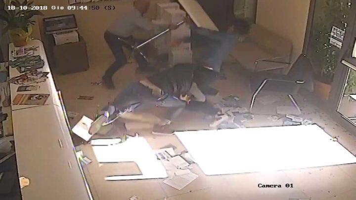 Rapina al banco di credito cooperativo di San Vittore – IL VIDEO